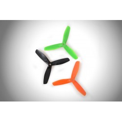 Hélices Tripales fibre GEMFAN 5x5x3 Bullnose (4pcs 2CW+2CCW)