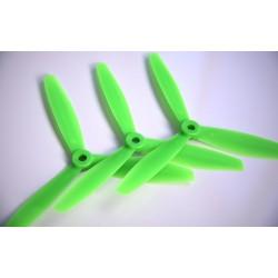 Hélices Tripales fibre GEMFAN 6x4x3 Bullnose (4pcs 2CW+2CCW)
