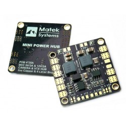 Matek PDB Mini Power HUB - BEC 5/12V