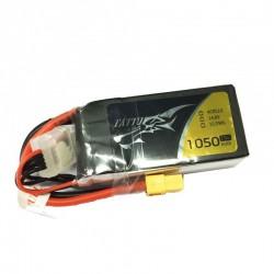 Batterie Lipo Tattu 4S 1050mAh 75C