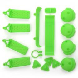 Set de parties plastiques vertes pour Crossking FPV 220 Competition Racer
