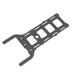 Plaque carbone Lumenier QAV250 pour GoPro
