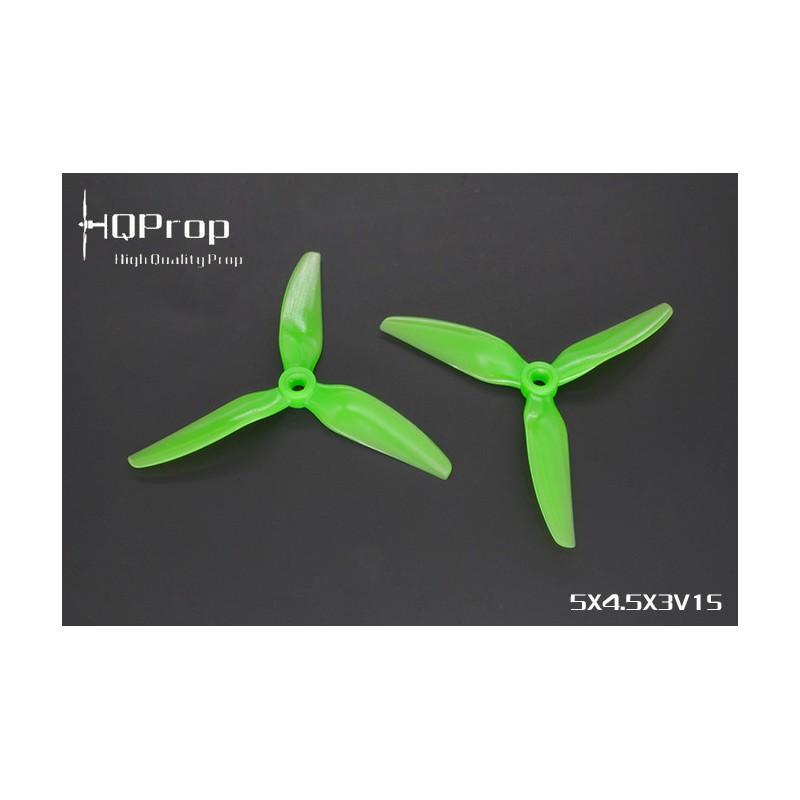 HQProp DP5X4.5X3 V1S - PC - (2x CW + 2xCCW)