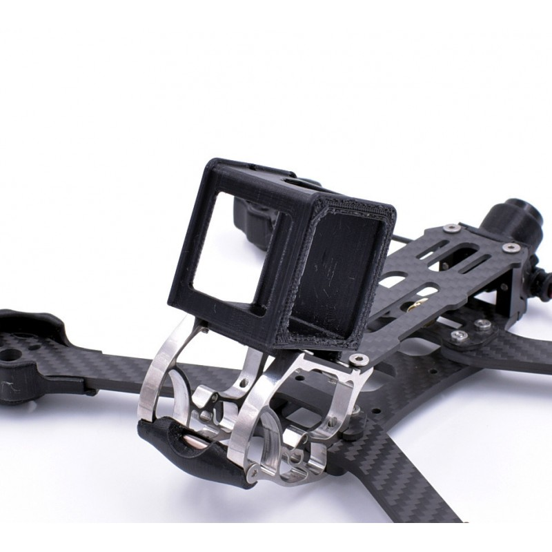 support gopro session mount pour rooster tpu by dfr drone fpv racer. Black Bedroom Furniture Sets. Home Design Ideas