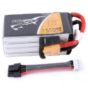 Batterie Lipo Tattu 4S 1550mAh 75C -DBC