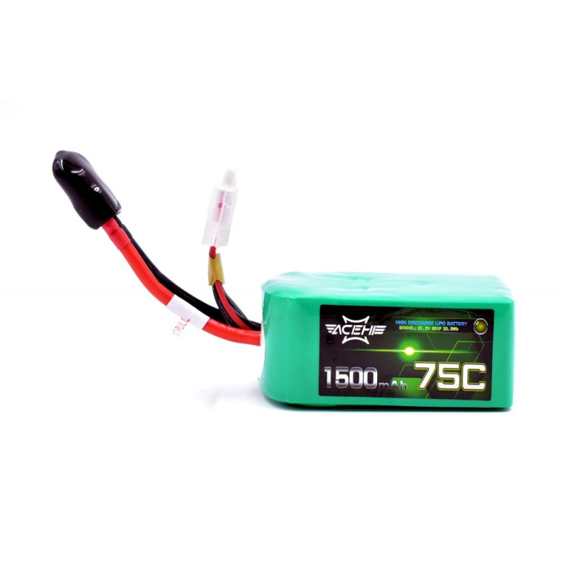 Batterie Lipo Acehe 6S 1500mAh 75C