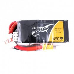 Tattu 2S 450mAh 75C - XT30 Lipo Battery Pack