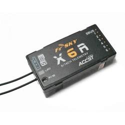 FrSky X6R 16ch Receiver, SBUS, Smart Port (EU)