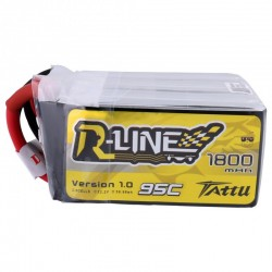 Lipo Battery Tattu R-Line 6S 1800mAh 95C