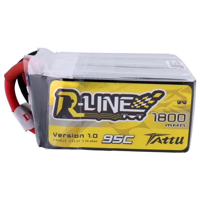 Batterie Lipo Tattu R-Line 6S 1800mAh 95C