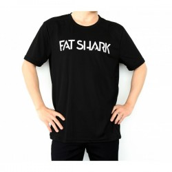 Fat Shark T-Shirt Noir