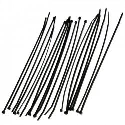 Serre cable Rilsan 200mmx2.5mm - 20pces