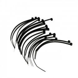 Serre cable Rilsan 100mmx2.5mm - 20pces