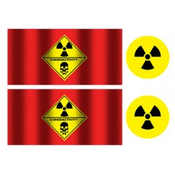 Stickers for capacitor Low ESR 680uF 35V - Type 6