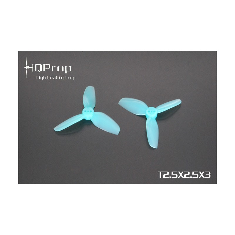 HQProp  Durable DP T2.5x2.5x3 PC  (4 pces) -2x CW + 2xCCW