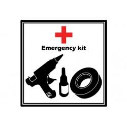 "Sticker ""Emergency Kit"""