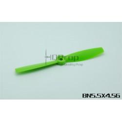 Hélices HQProp 5.5x45 Bullnose - renforcées fibres (4 pces) -2x CW + 2xCCW
