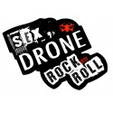 "Sticker ""Sex Drone Rock and Roll"""
