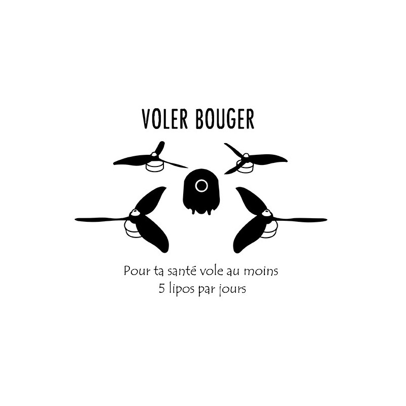 "Sticker ""Voler Bouger"""