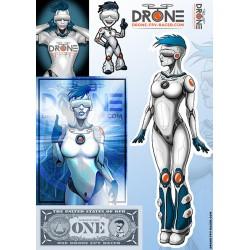 """Sticker """"Drony 5"""""""