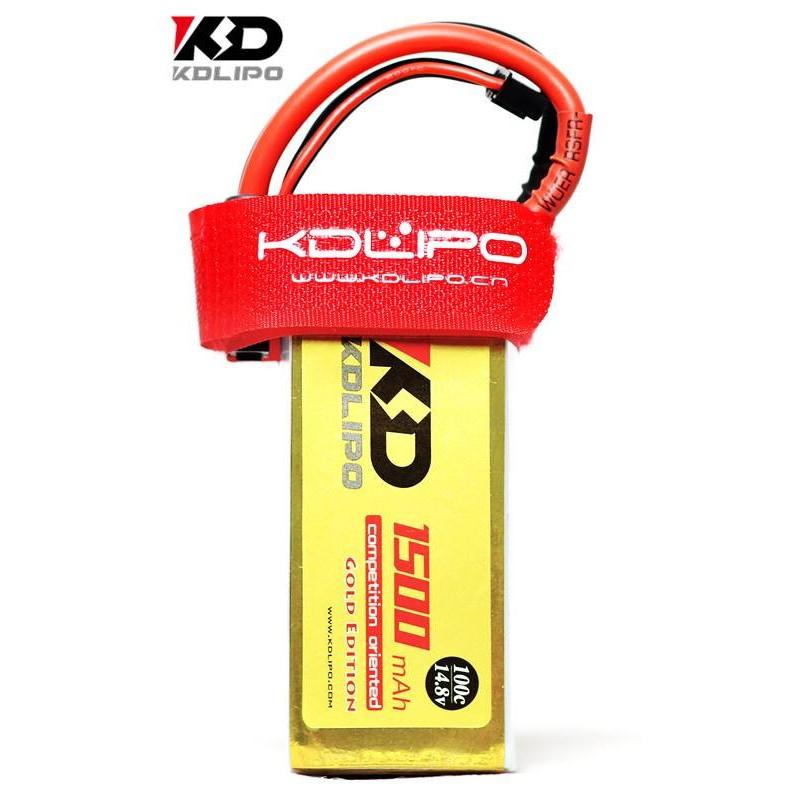 KDLIPO 4S 1500mah 100C - Gold Edition
