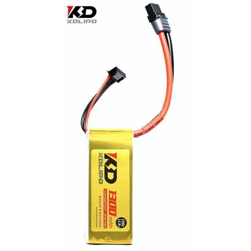 KDLIPO 4S 1300mah 100C - Gold Edition
