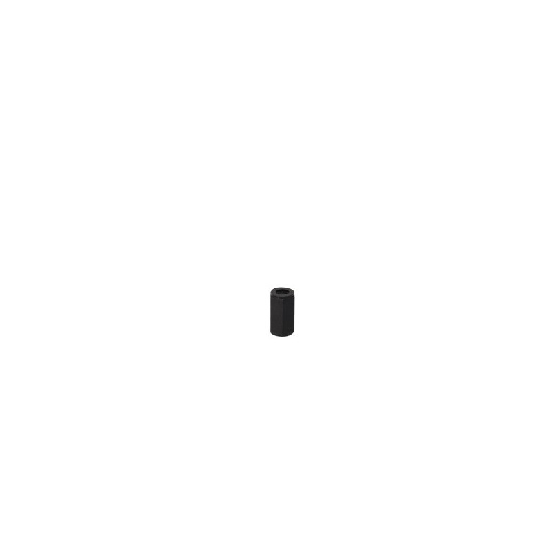 M3x5mm Black Nylon Standoff female/female - 10pces