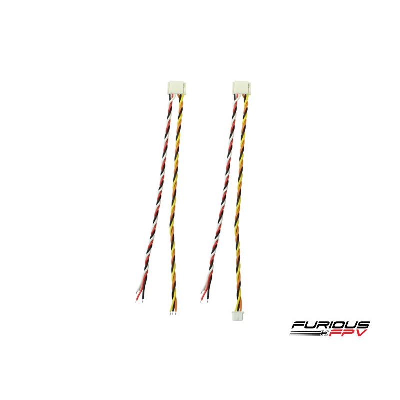 FuriousFPV Silicone Cable for Furious FPV VTXs (GH connector)