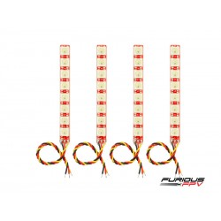 FuriousFPV Single Row LED Strip x4 - V2