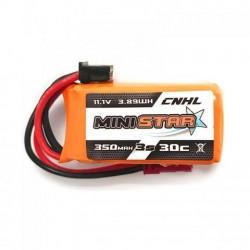 Pack de 3 CNHL 350mAh 3S 30C MINISTAR
