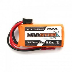 Pack of 3 CNHL 350mAh 3S 30C MINISTAR