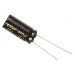 Panasonic ESR 470uF 35V Low Capacitor