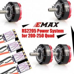 Combo Emax RS2205S 2300kv + ESC 30A Bullet