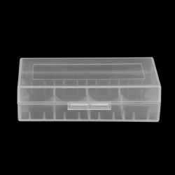 Storage case for 18650 battery