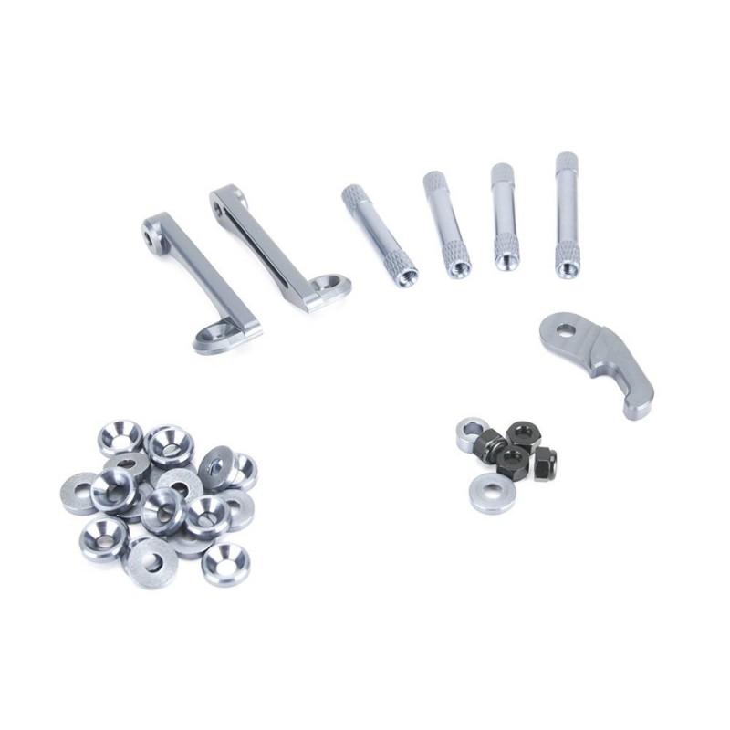 Remix Gunmetal Aluminium Kit