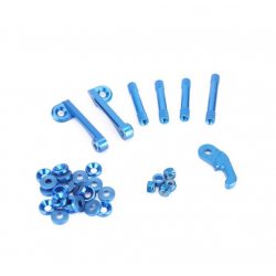 Remix Blue Aluminium Kit