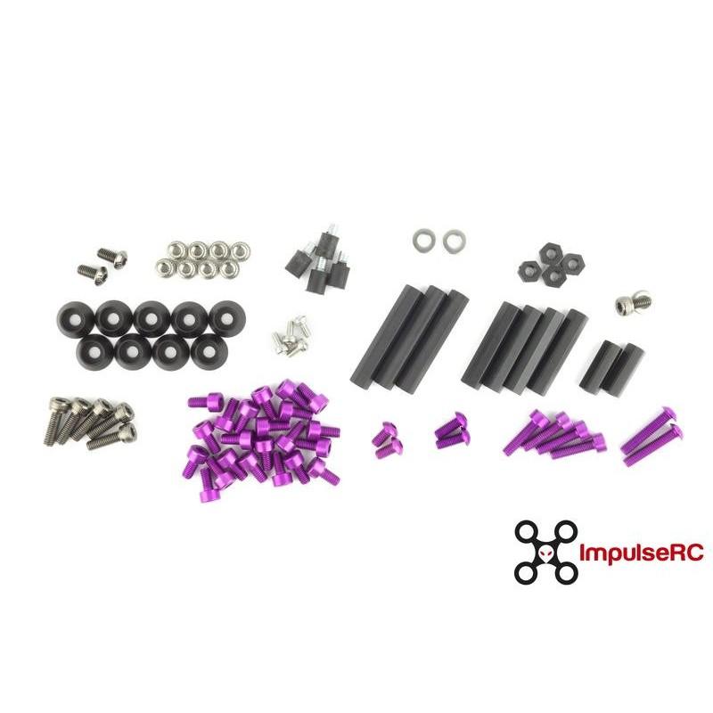 Reverb Full Screw Pack - Purple ImpulseRC