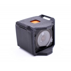 Support RunCam 3S + Front protect Strapable - TPU by DFR