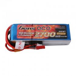Batterie Lipo Gens Ace 3S 2700mAh pour X9D