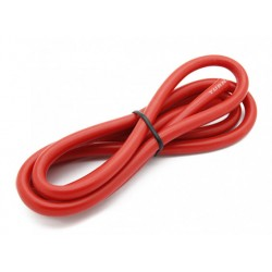 Turnigy Haute qualité 8AWG Fil Silicone 1m (rouge)