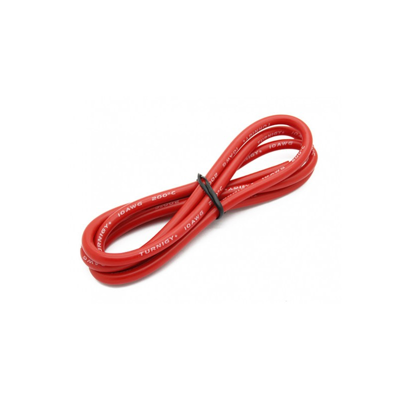 Turnigy High Quality 10AWG Silicone Wire 1m