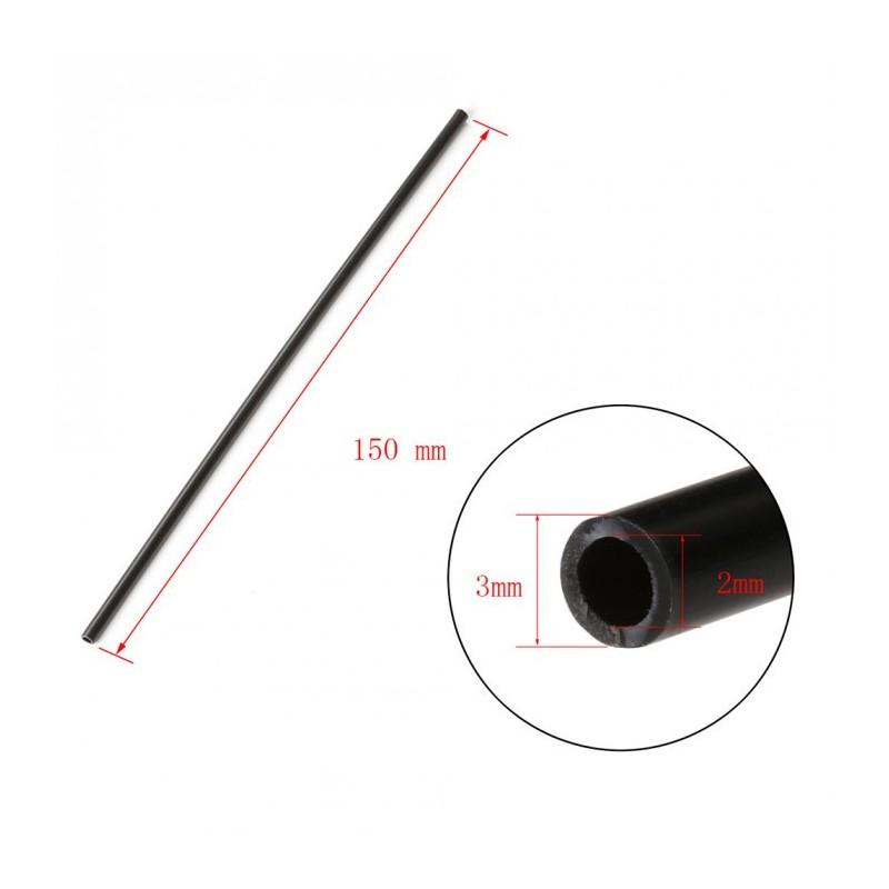 Black/White Small antenna protection tube