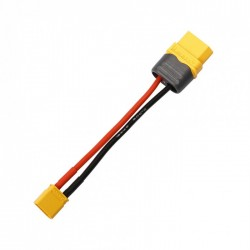 XT30 Male To XT60 Female Plug Connectors With 16AWG Silicon Wire Cable 10CM