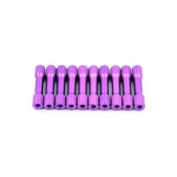 30mm x M3 Knurled Standoffs (10pces)