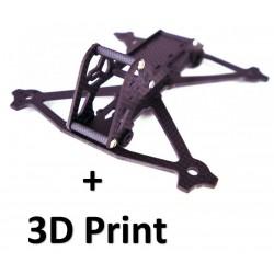 Acrobrat Pack Frame + 3D Print
