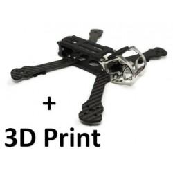 Pack Frame Rooster + 3D Print