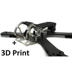 """Pack Frame Chameleon Ti 5"""" + 3D Print"""