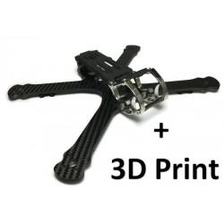 """Chameleon Ti 6"""" Pack Frame + 3D Print"""