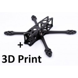 AstroX X5 JohnnyFPV Pack Frame + 3D Print