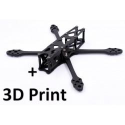Pack Frame AstroX X5 JohnnyFPV + 3D Print